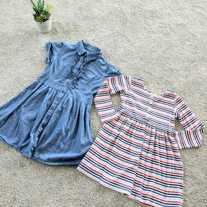 2 Girl's Dresses Hanna Andersson